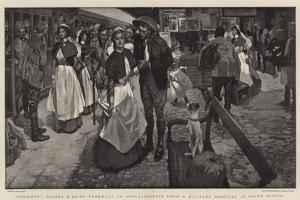 Good-Bye, Nurses Bidding Farewell to Convalescents from a Military Hospital in South Africa by Frank Craig
