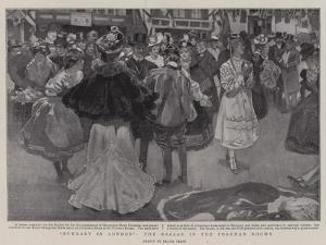 Hungary in London, the Bazaar in the Portman Rooms by Frank Craig