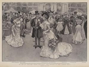 In Aid of Charing Cross Hospital, the Bazaar at the Albert Hall by Frank Craig