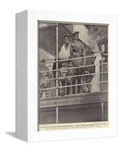 Lord Roberts's Home-Coming, on the Hurricane Deck of the Ss Canada by Frank Craig