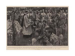 On the Eve of Battle, the Celebration of the Holy Communion on the Veldt by Frank Craig