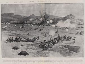 Panoramic View of the Battle of Colenso, the Fight Against a Hidden Enemy by Frank Craig