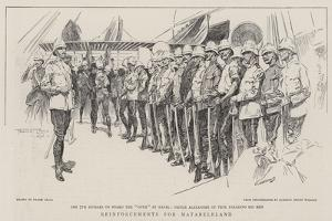 Reinforcements for Matabeleland by Frank Craig