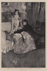 Signora Duse as Silvia Settala in La Gioconda at the Lyceum by Frank Craig