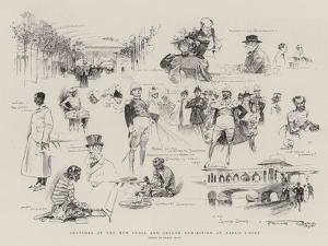 Sketches at the New India and Ceylon Exhibition at Earl's Court by Frank Craig