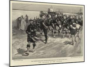 The Advance in the Soudan by Frank Craig