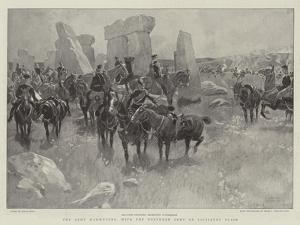 The Army Manoeuvres, with the Northern Army on Salisbury Plain by Frank Craig