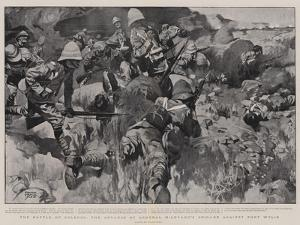 The Battle of Colenso, the Advance of General Hildyard's Brigade Against Fort Wylie by Frank Craig