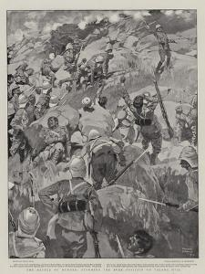 The Battle of Dundee, Storming the Boer Position on Talana Hill by Frank Craig