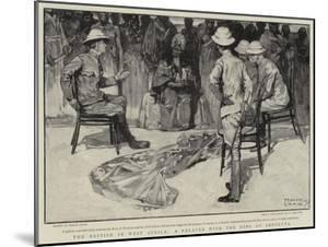 The British in West Africa, a Palaver with the King of Abeokuta by Frank Craig
