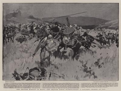 The British Mission to Kano, the British Force Withstanding a Cavalry Charge at Ugu