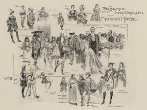 The Childrens Fancy Dress Ball at the Mansion House by Frank Craig