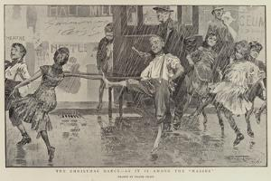 The Christmas Dance, as it Is Among the Masses by Frank Craig