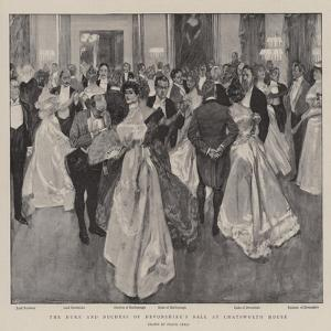 The Duke and Duchess of Devonshire's Ball at Chatsworth House by Frank Craig