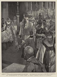 The Enthronisation of Bishop Smith as Roman Catholic Primate of Scotland by Frank Craig