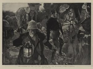 The Evening of the Day, the Search for the Wounded after a Battle by Frank Craig