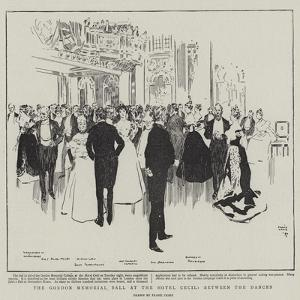The Gordon Memorial Ball at the Hotel Cecil, Between the Dances by Frank Craig