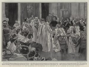 The Installation of the Marquess of Waterford as a Knight of St Patrick at Dublin Castle by Frank Craig
