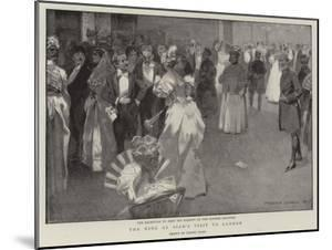 The King of Siam's Visit to London by Frank Craig