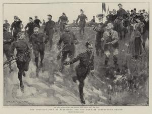 The Obstacle Race at Aldershot for the Duke of Connaught's Shield by Frank Craig