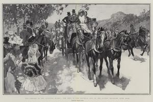 The Opening of the Coaching Season, the Meet of the Coaching Club at the Powder Magazine, Hyde Park by Frank Craig