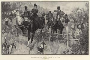 The Opening of the Hunting Season, in Full Cry by Frank Craig