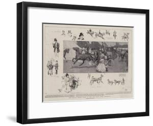 The Royal Horse Show in the Old Deer Park, Richmond by Frank Craig