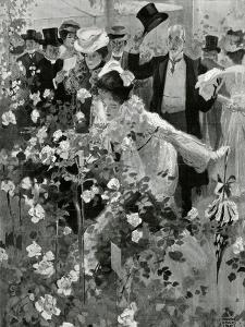 The Royal Horticultural Society's Show in the Temple Gardens by Frank Craig