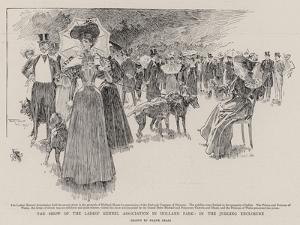The Show of the Ladies' Kennel Association in Holland Park, in the Judging Enclosure by Frank Craig