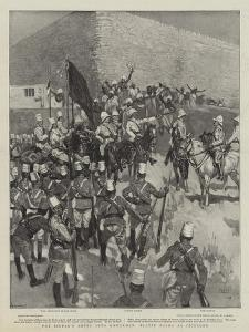 The Sirdar's Entry into Omdurman, Slatin Pasha as Cicerone by Frank Craig