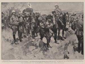 The Surrender at Paardeberg, Marshalling the Prisoners by Frank Craig