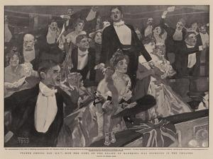Three Cheers for 'B-P', How the News of the Relief of Mafeking Was Received in the Theatre by Frank Craig