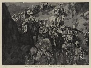 Trying to Surprise a Mobile Enemy, a Night March by Frank Craig