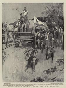 Watching the Fight, the Staff of the Yeomanry Hospital at Roodeval by Frank Craig
