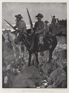 With General Gatacre's Force, Scouts at Work by Frank Craig