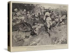 With the Kurram Movable Column of the Tirah Field Force by Frank Craig