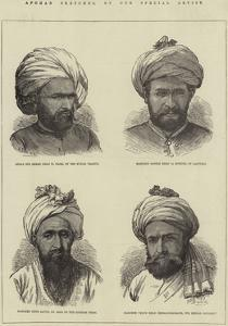 Afghan Sketches by Frank Dadd