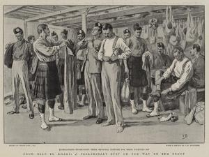From Kilt to Khaki, a Preliminary Step on the Way to the Front by Frank Dadd
