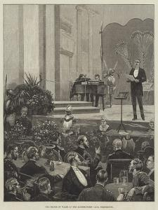 The Prince of Wales at the Minnesingers' Club, Portsmouth by Frank Dadd