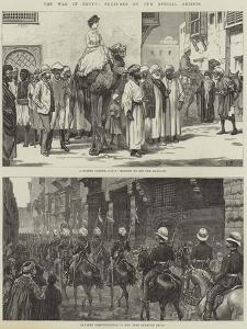 The War in Egypt by Frank Dadd