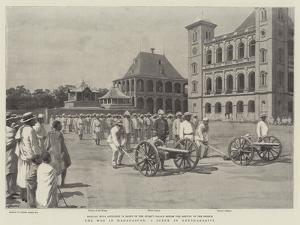 The War in Madagascar, a Scene in Antananarivo by Frank Dadd
