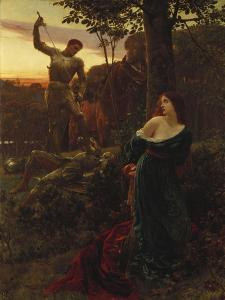 Chivalry, 1885 by Frank Dicksee