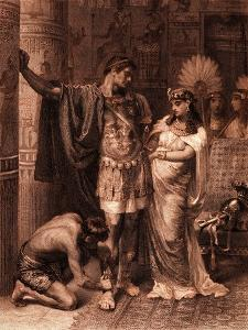 William Shakespeare 's play Antony and Cleopatra by Frank Dicksee