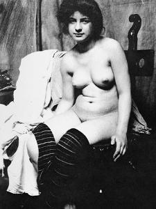 Seated Nude, C1910 by Frank Eugene