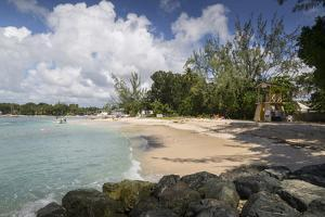 Beach, Holetown, St. James, Barbados, West Indies, Caribbean, Central America by Frank Fell