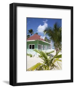 Beach Hut, Bavaro Beach, Punta Cana, Dominican Republic, West Indies, Caribbean, Central America by Frank Fell