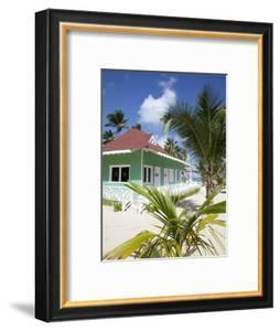 Beach Hut, Bavaro Beach, Punta Cana, Dominican Republic, West Indies, Caribbean, Central America by Frank Fell