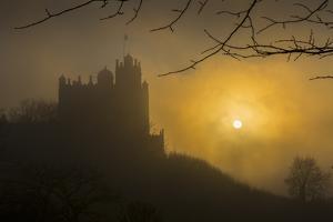 Bolsover Castle sunset, Bolsover, North Derbyshire, England, United Kingdom, Europe by Frank Fell
