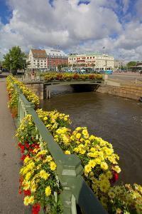 Canal and Hotels, Drottningtorget, Gothenburg, Sweden, Scandinavia, Europe by Frank Fell