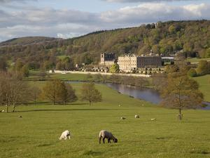 Chatsworth House, Chatsworth Estate, Derbyshire, England, United Kingdom, Europe by Frank Fell